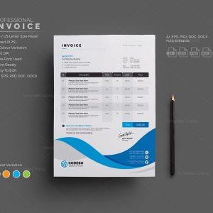 Professional Invoice Templates