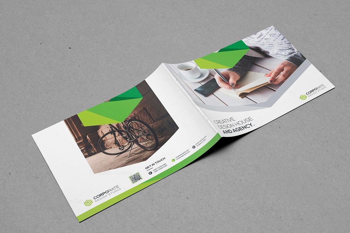 Professional Landscape Brochure Template Template Catalog - Landscape brochure template