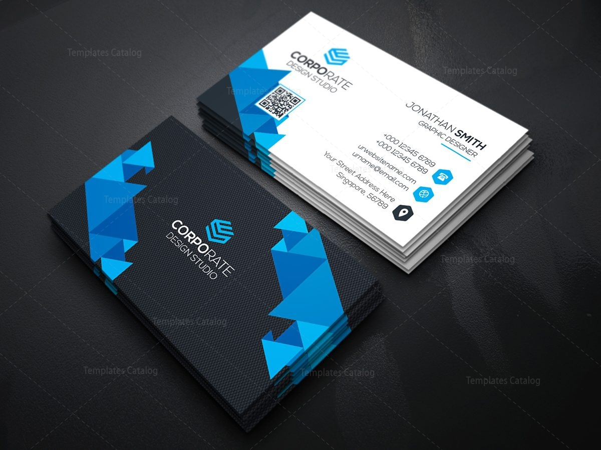 Professional technology business card with modern design 000364 professional technology business card with modern design 2 magicingreecefo Gallery