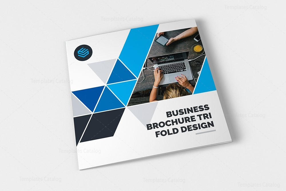 business brochure template - professional trifold brochure template 000430 template