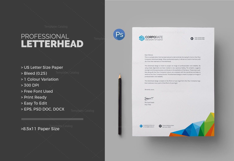 free business letterhead templates psd30 best free