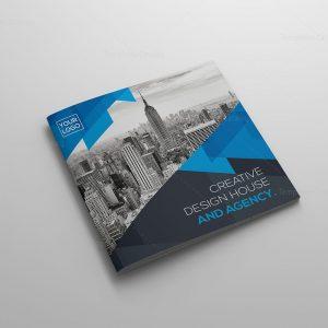 Real Estate Corporate Bifold Brochure Template