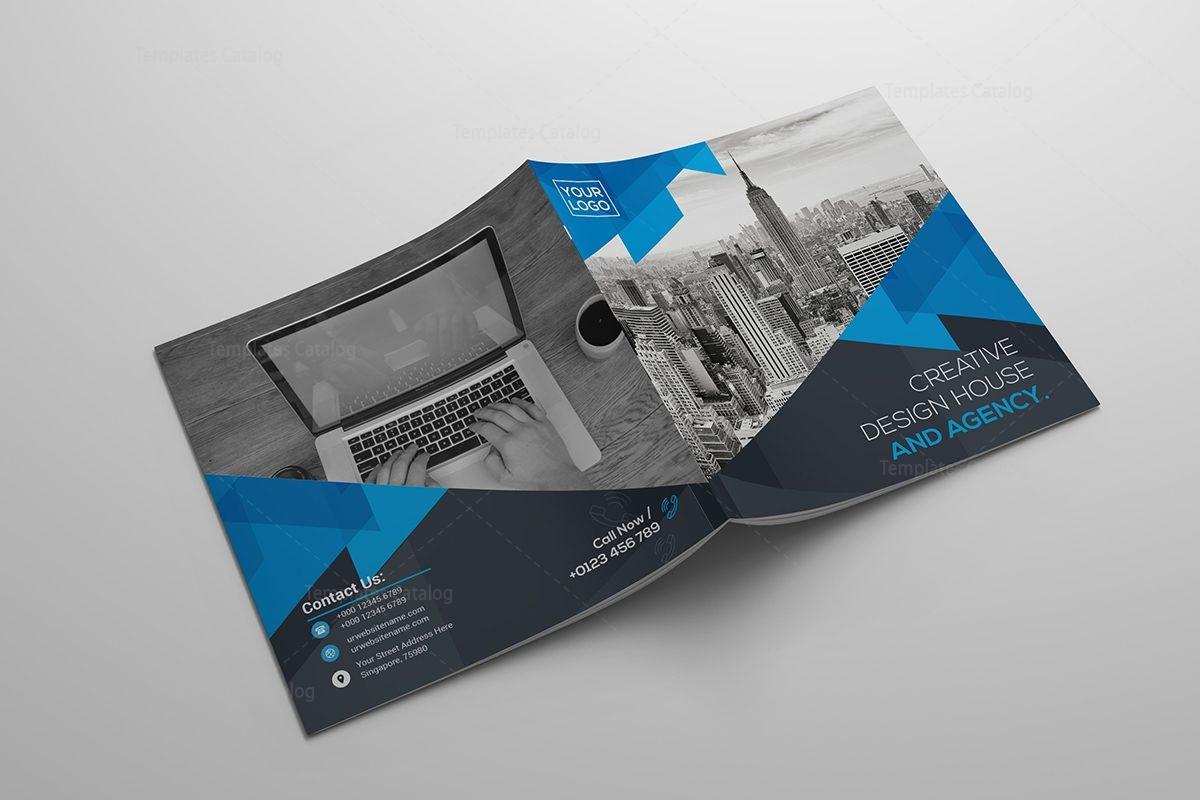 upmarket serious real estate flyer design for property north