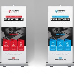 Stylish Rollup Banner Template