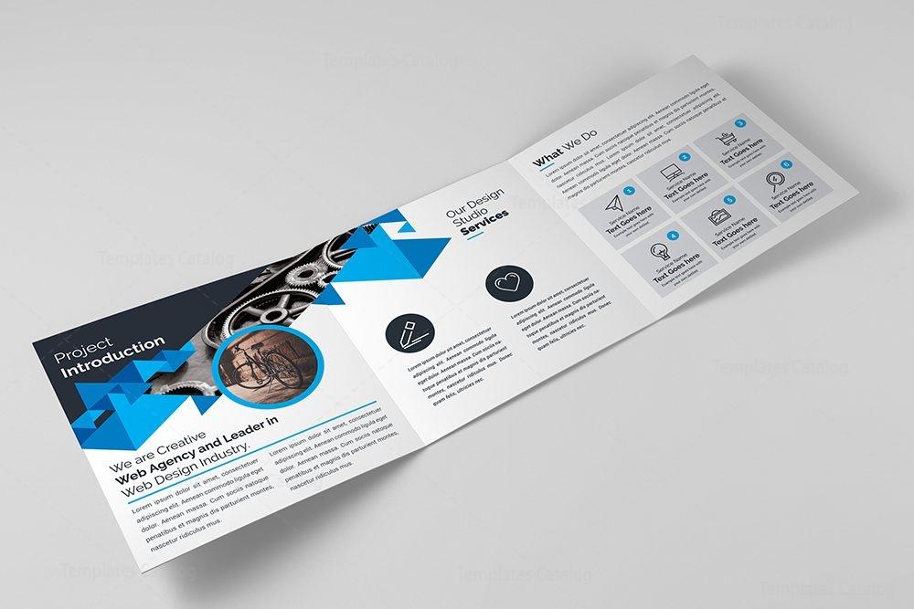 Trifold Corporate Brochure Template 000427 Template Catalog