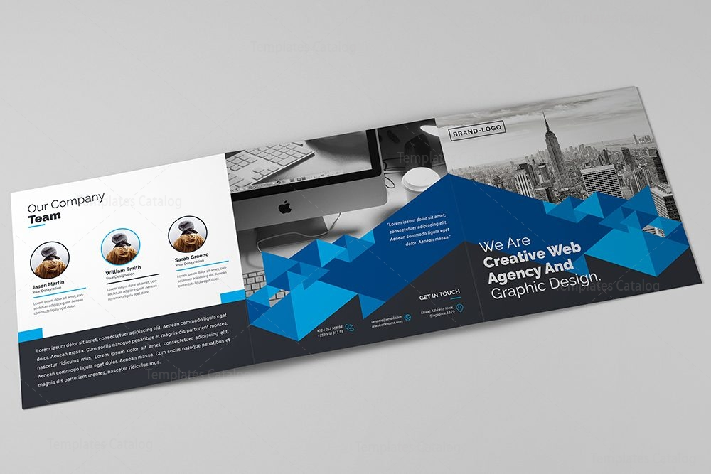 Trifold corporate brochure template 000427 template catalog for Corporate brochure template