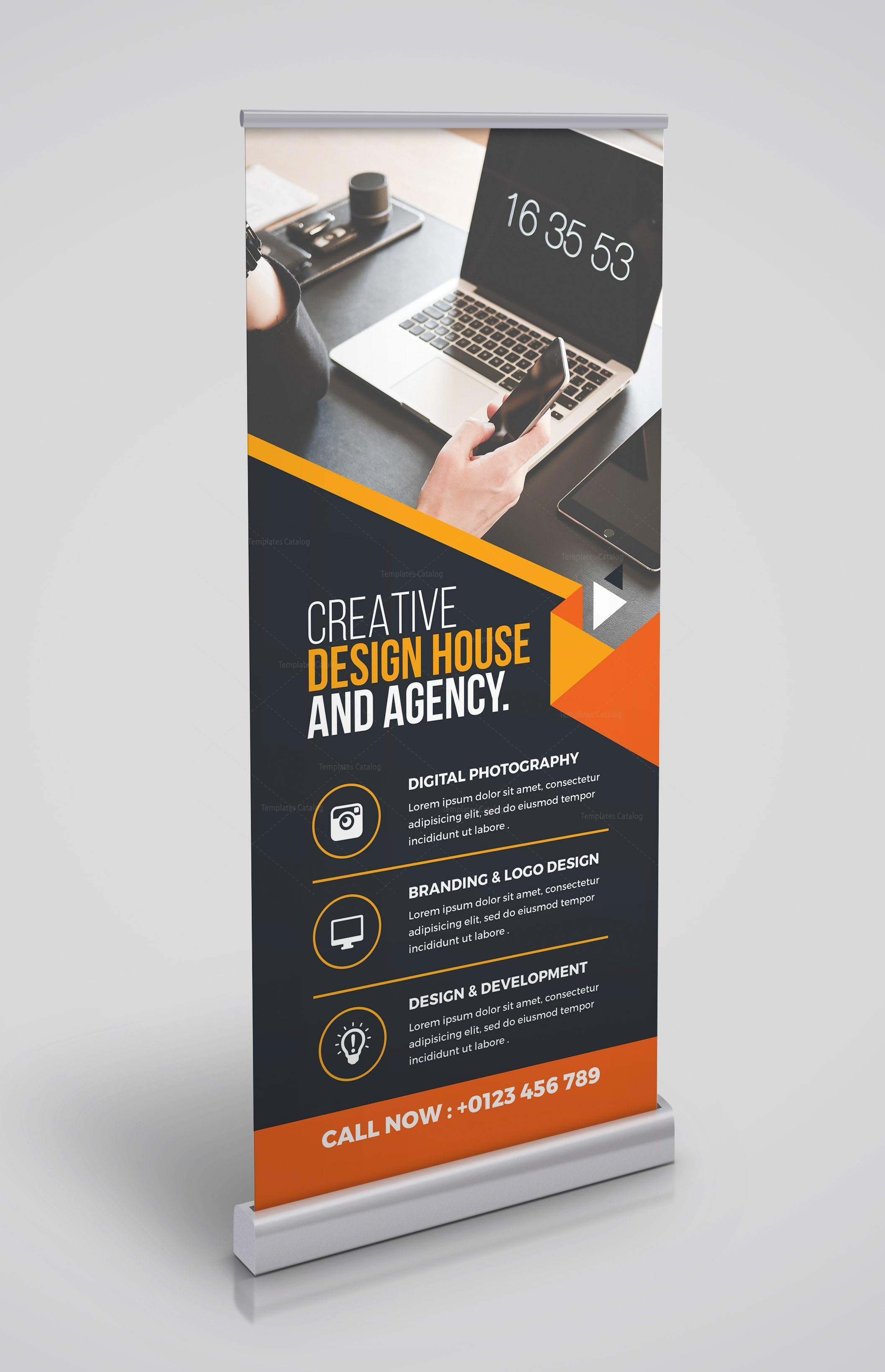 Versatile Rollup Banner Template 000347 - Template Catalog