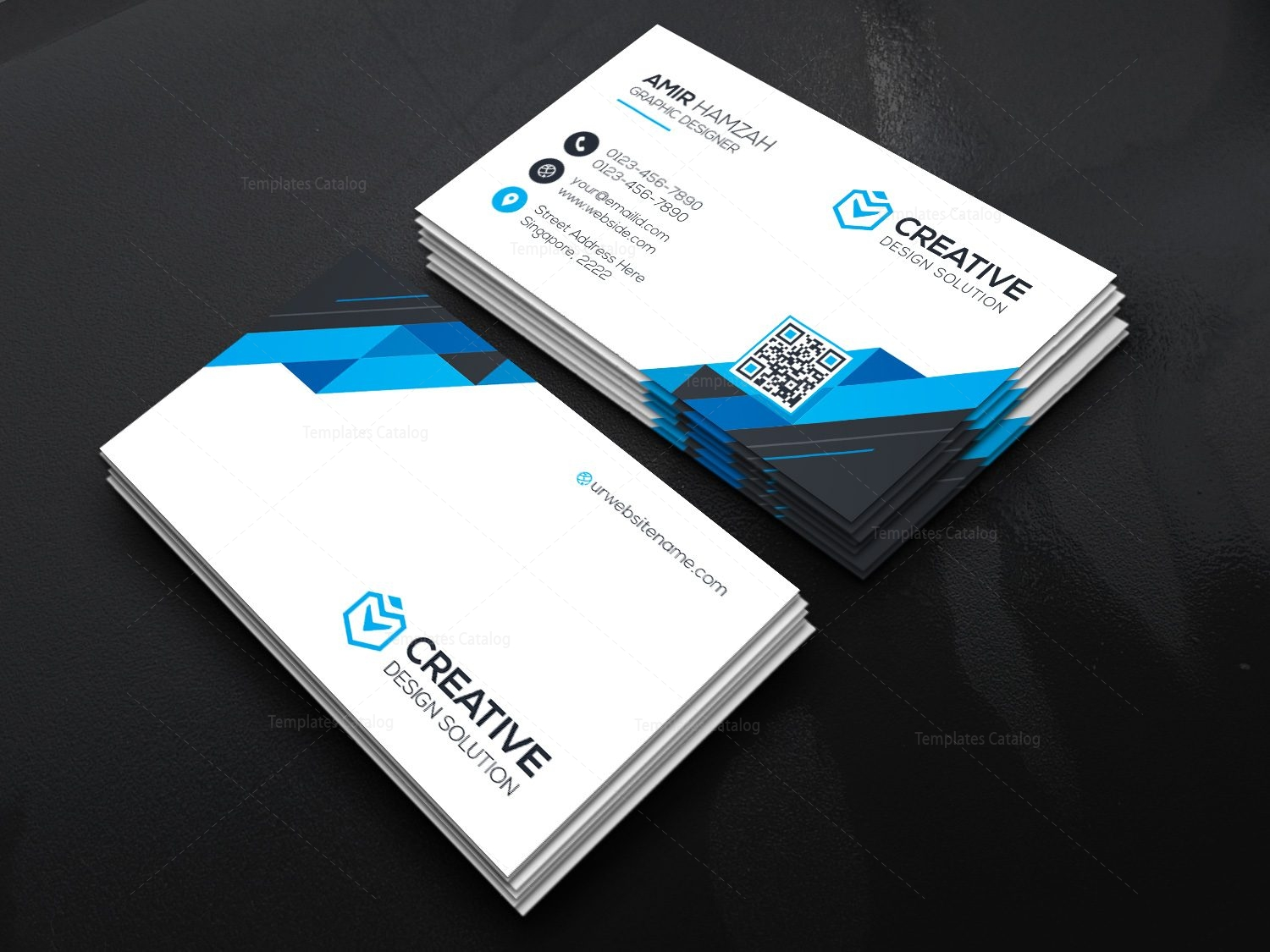 2018 technology business card 000473 template catalog 2018 technology business card 2 magicingreecefo Gallery