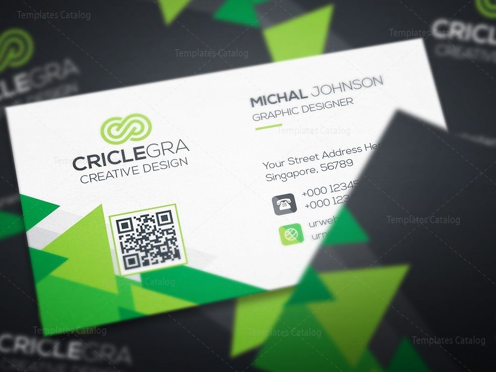 Business card template with triangle shapes 000461 template catalog business card template with triangle shapes 5 colourmoves