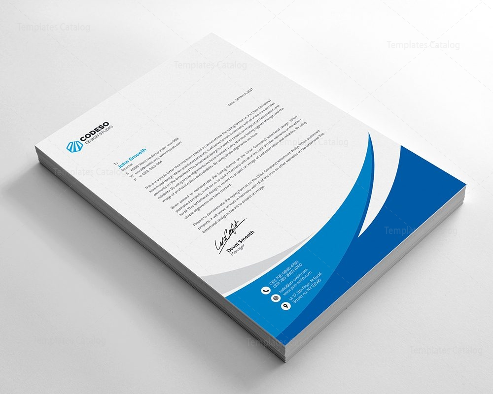 Business letterhead template with modern design 000549 template business letterhead template with modern design 2 wajeb Gallery