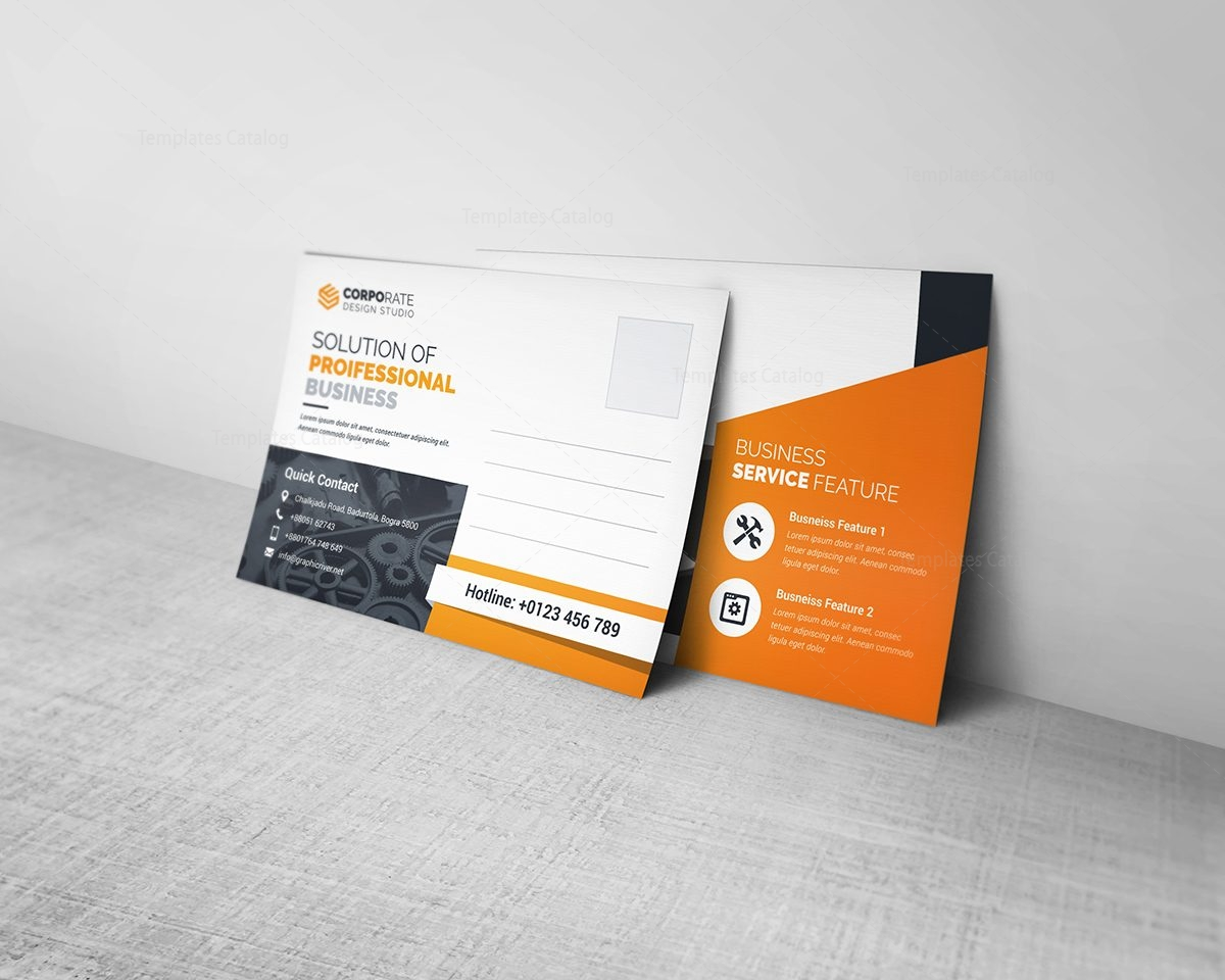 Business Postcard Template 2