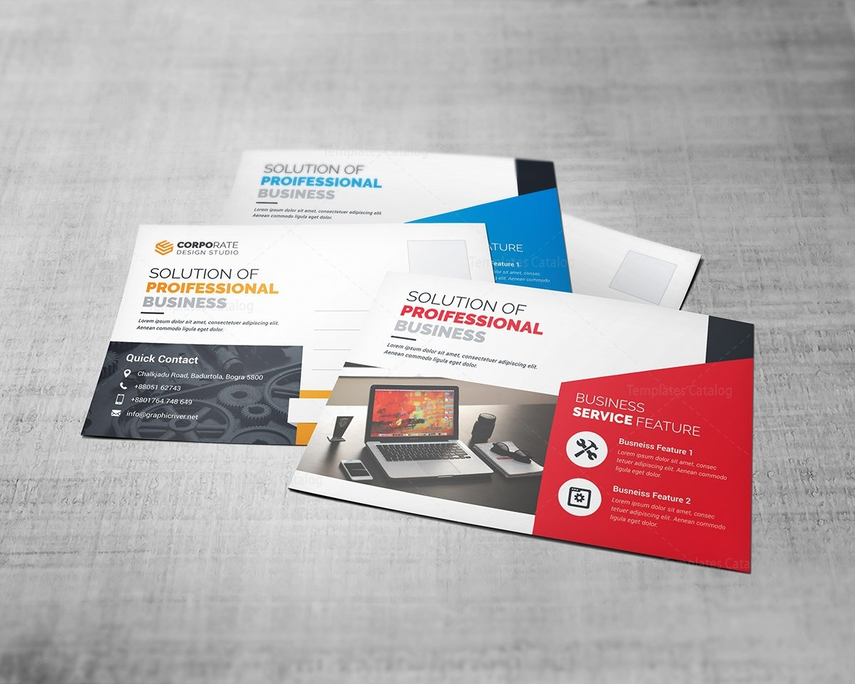 Business Postcard Template 5
