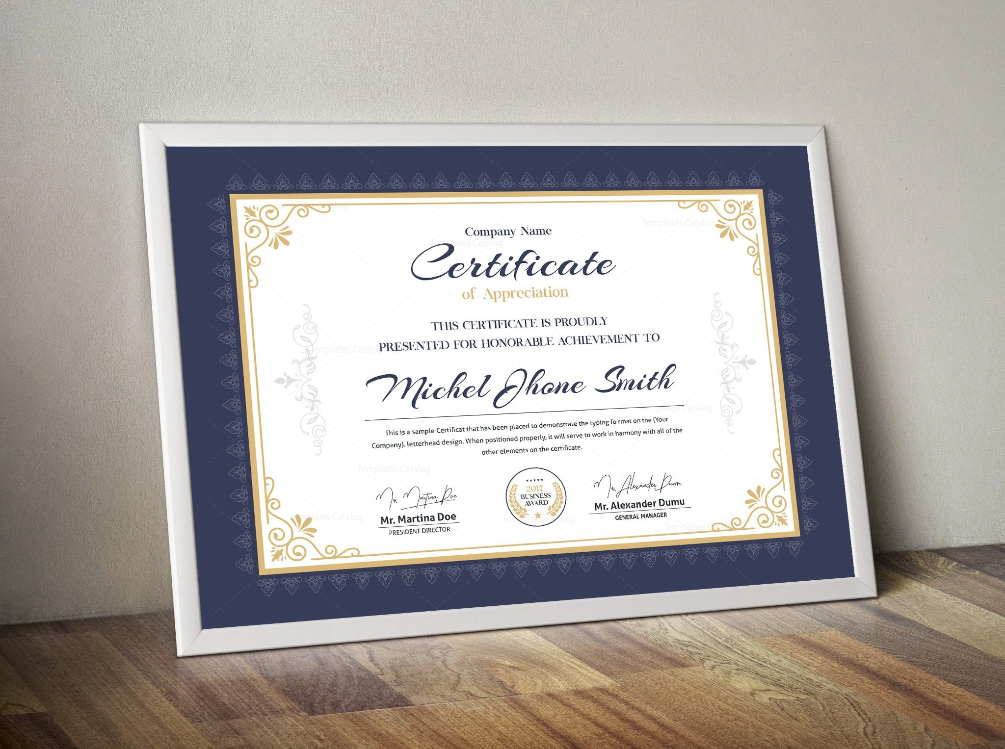 Classic certificate template 000506 template catalog classic certificate template 2 1betcityfo Gallery