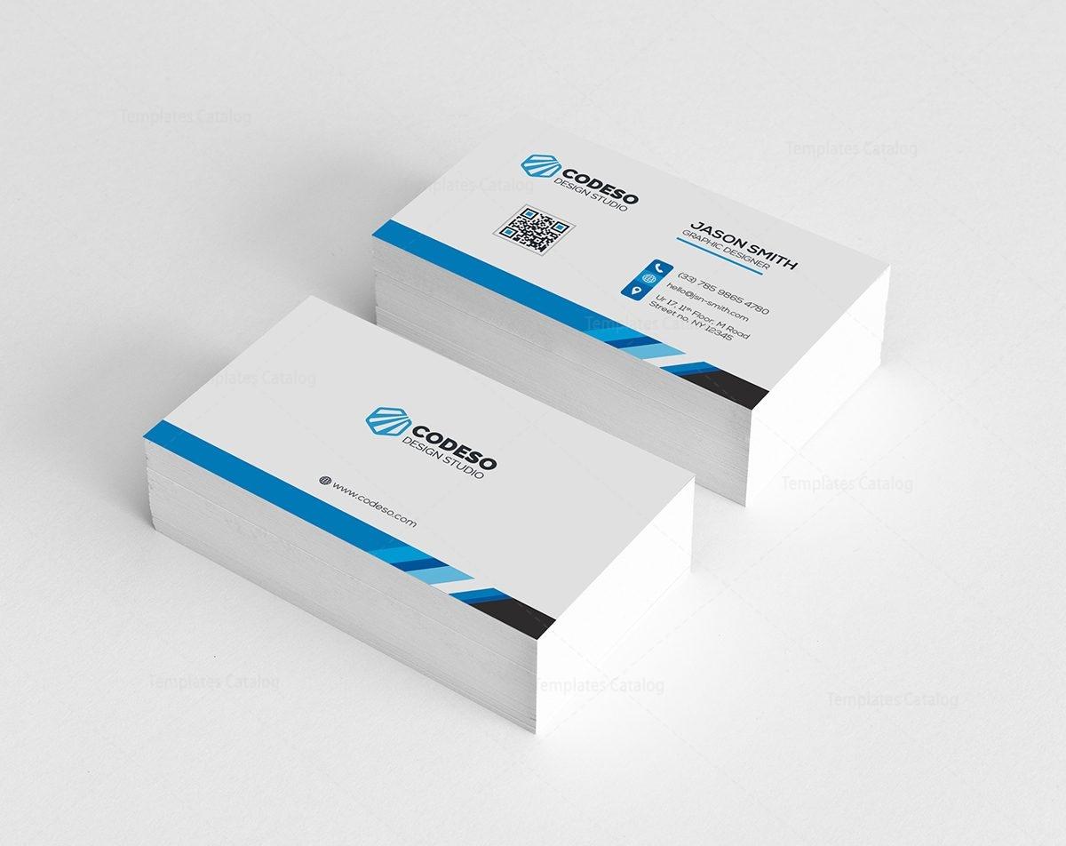 Elegant plain business card 000518 template catalog elegant plain business card 1 colourmoves