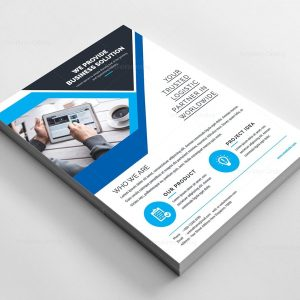 Formidable Corporate Flyer Template