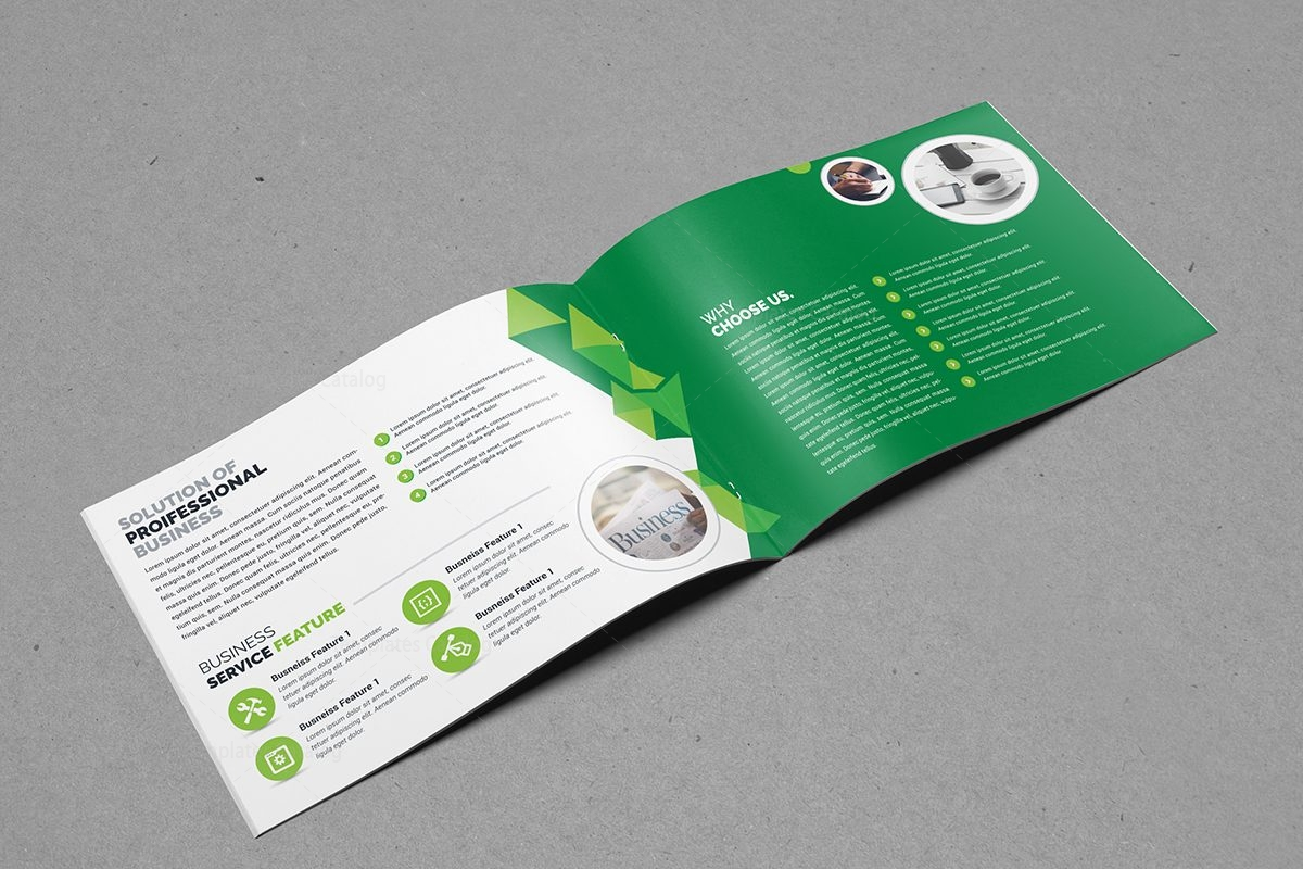 Fully Editable Landscape Brochure Template Template Catalog - Editable brochure templates
