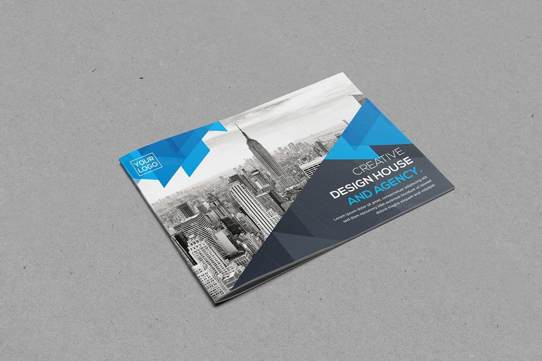Landscape Brochure Template Design Template Catalog - Landscape brochure template