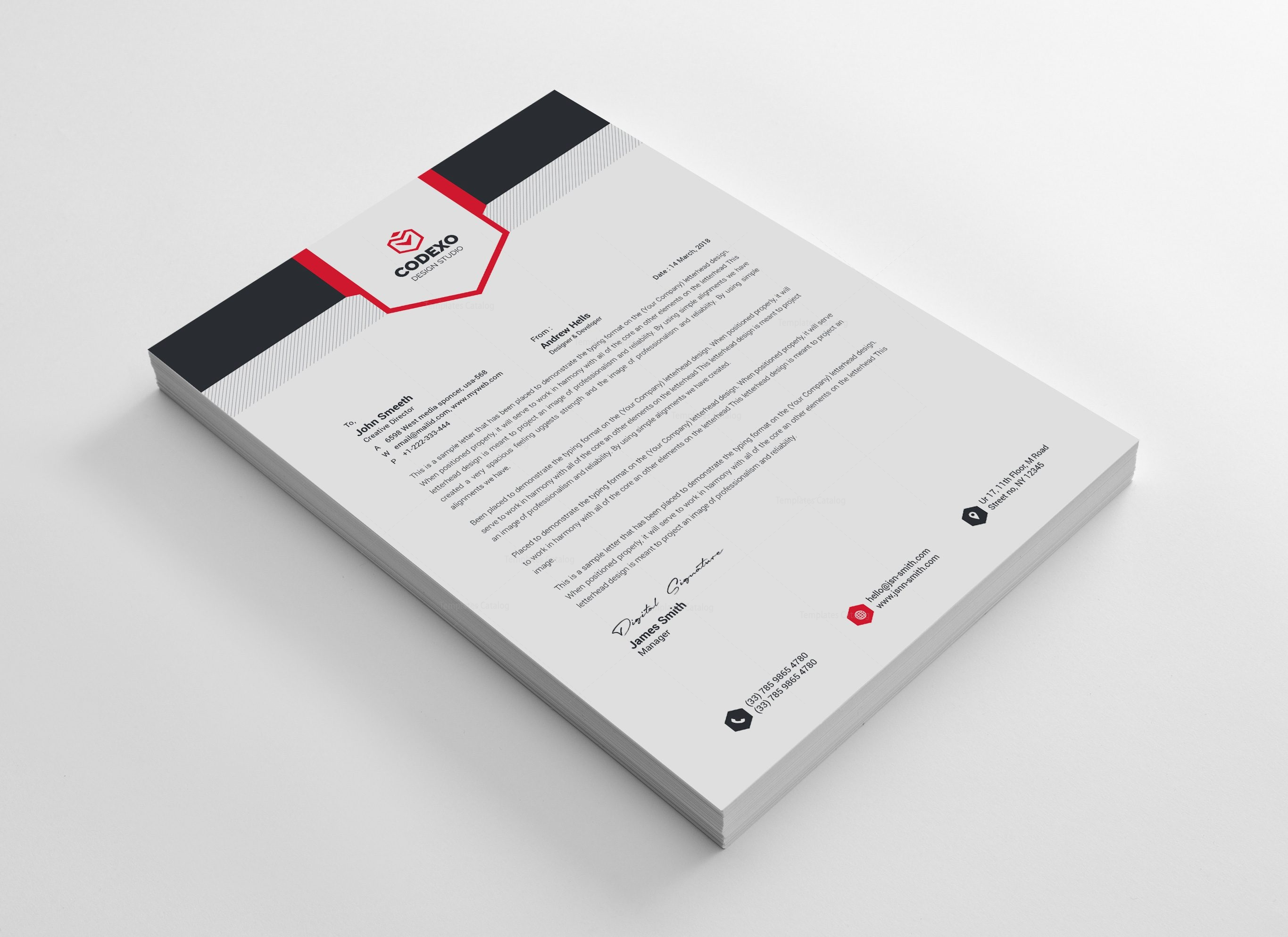 Letterhead stationery template bundle 000577 template catalog letterhead stationery template bundle 10 friedricerecipe Images
