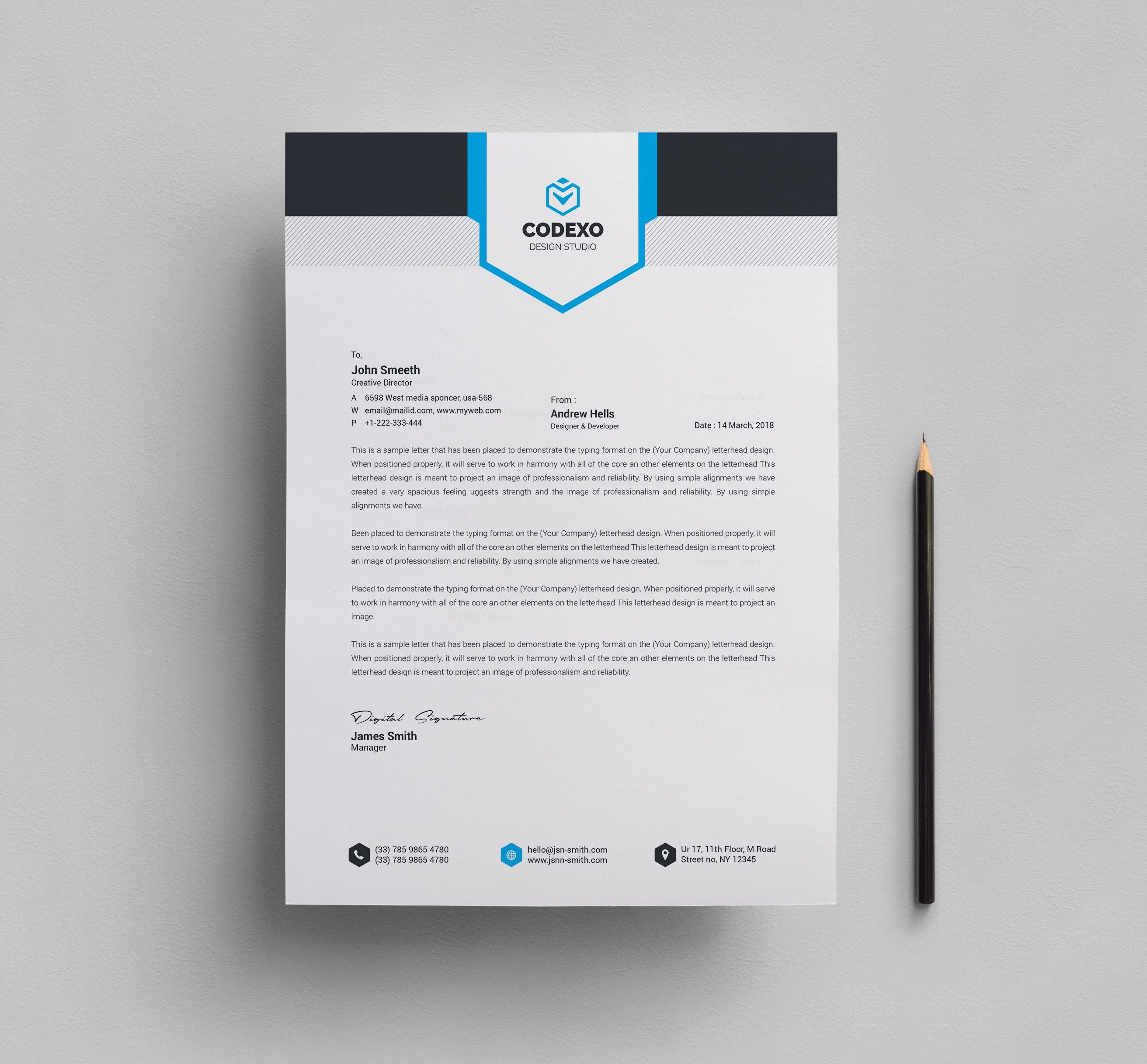 letter head Company letterhead design ideas stand out from one and two-color business letterhead designs by printing in full color this will make every note you write, or letter you print, grab interest from the recipient.