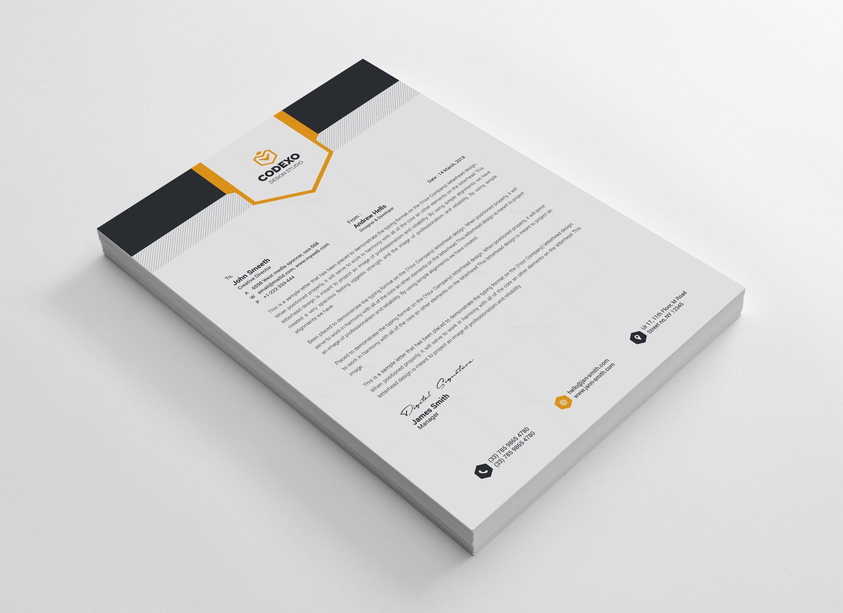 letterhead stationery template bundle 000577 template catalog