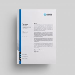 letterhead templates 000579 template catalog