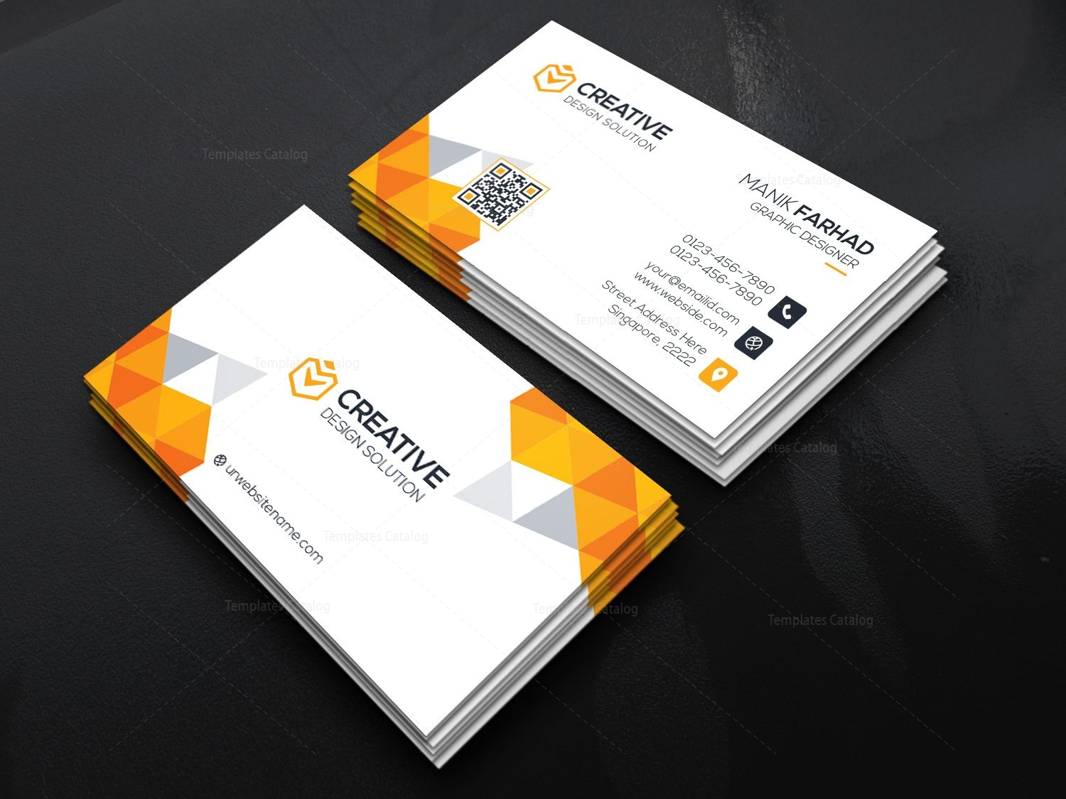 Modern business cards boatremyeaton modern business cards colourmoves