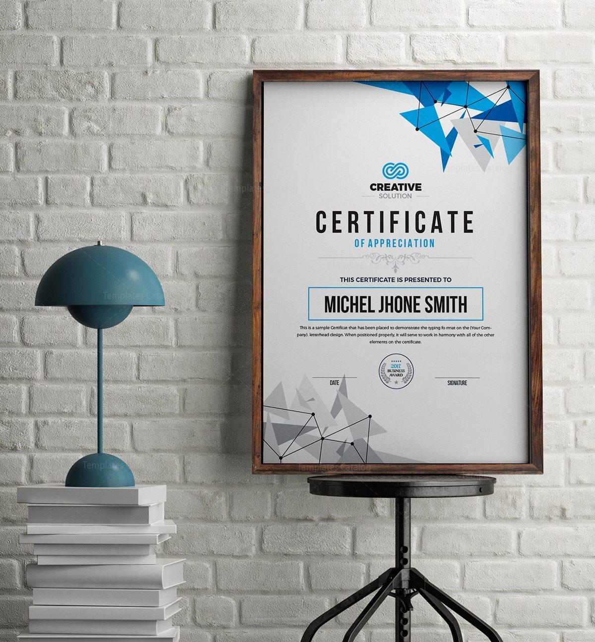 Modern simple certificate template 000536 template catalog modern simple certificate template 1 yadclub Images
