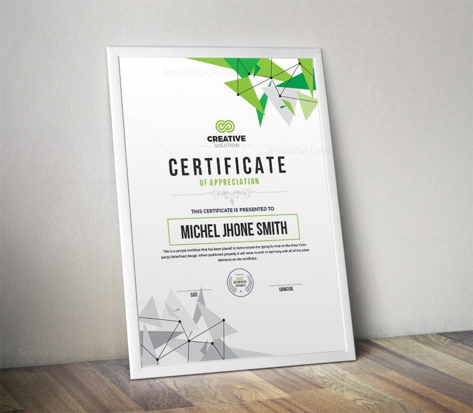 modern simple certificate template 5 template catalog