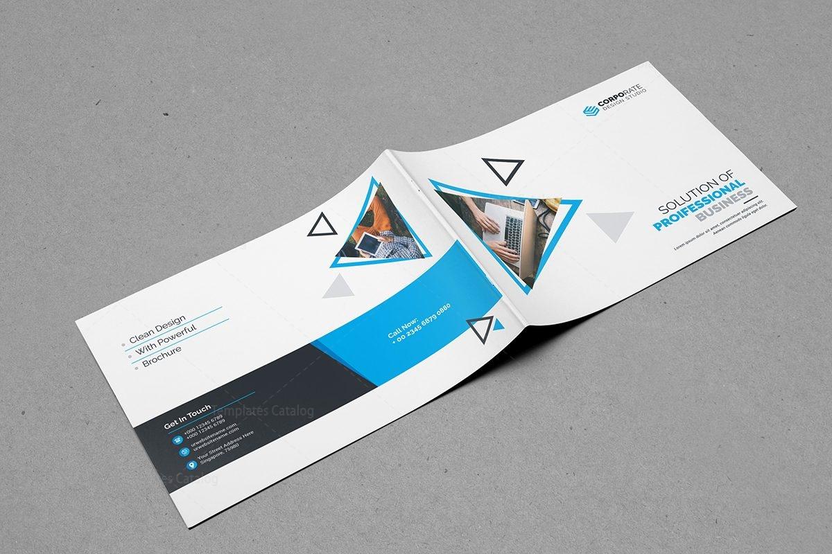 plain brochure template - plain landscape brochure template 9 template catalog