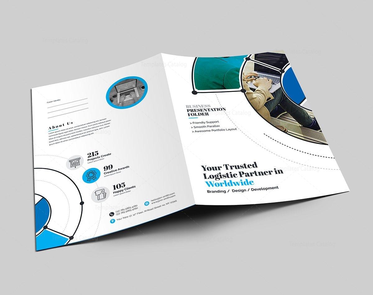 wordpress template folder - premium presentation folder design 000599 template catalog
