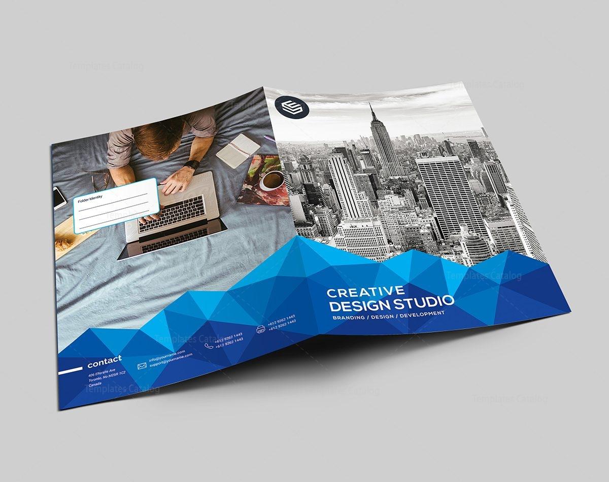 presentation folder design template 000488 template catalog. Black Bedroom Furniture Sets. Home Design Ideas