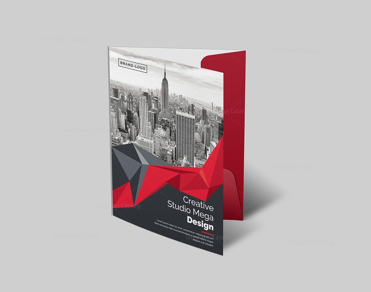 Presentation Folder Template Template Catalog - Brochure folder template
