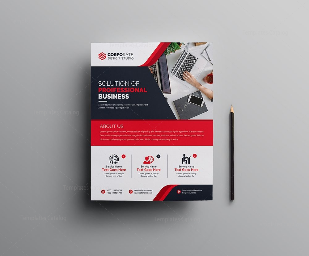 pro corporate flyer design template 1