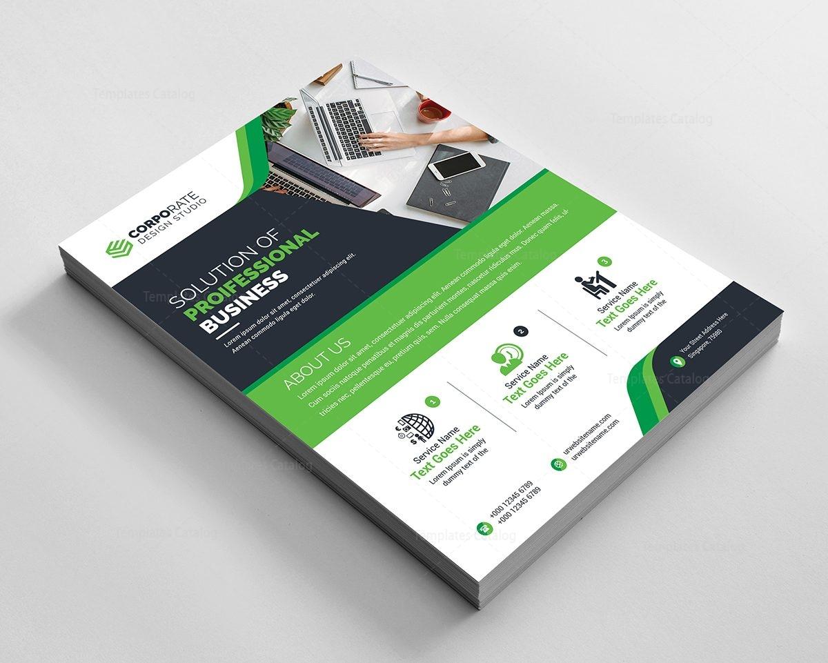 pro corporate flyer design template 000596 template catalog