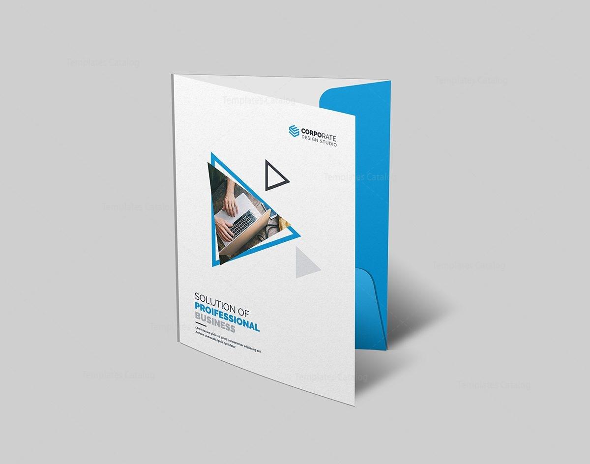 professional presentation folder design 000566 template catalog. Black Bedroom Furniture Sets. Home Design Ideas