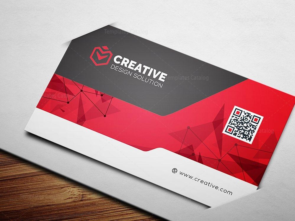 technology business card mockup 000519 template catalog