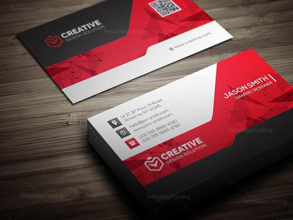 Technology Business Card Mockup 000519 - Template Catalog
