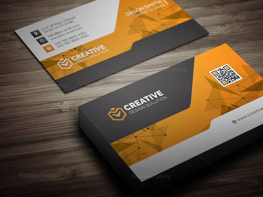 Technology Business Card Mockup 000519 Template Catalog