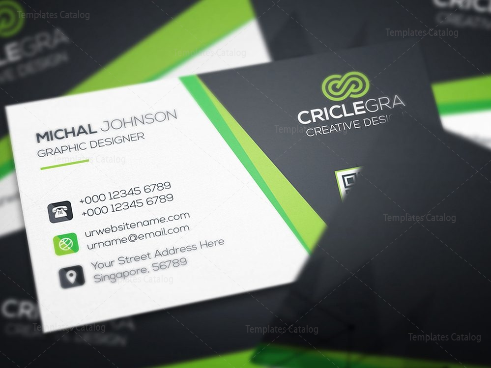 Technology visiting card template 000463 template catalog technology visiting card template 5 cheaphphosting Gallery