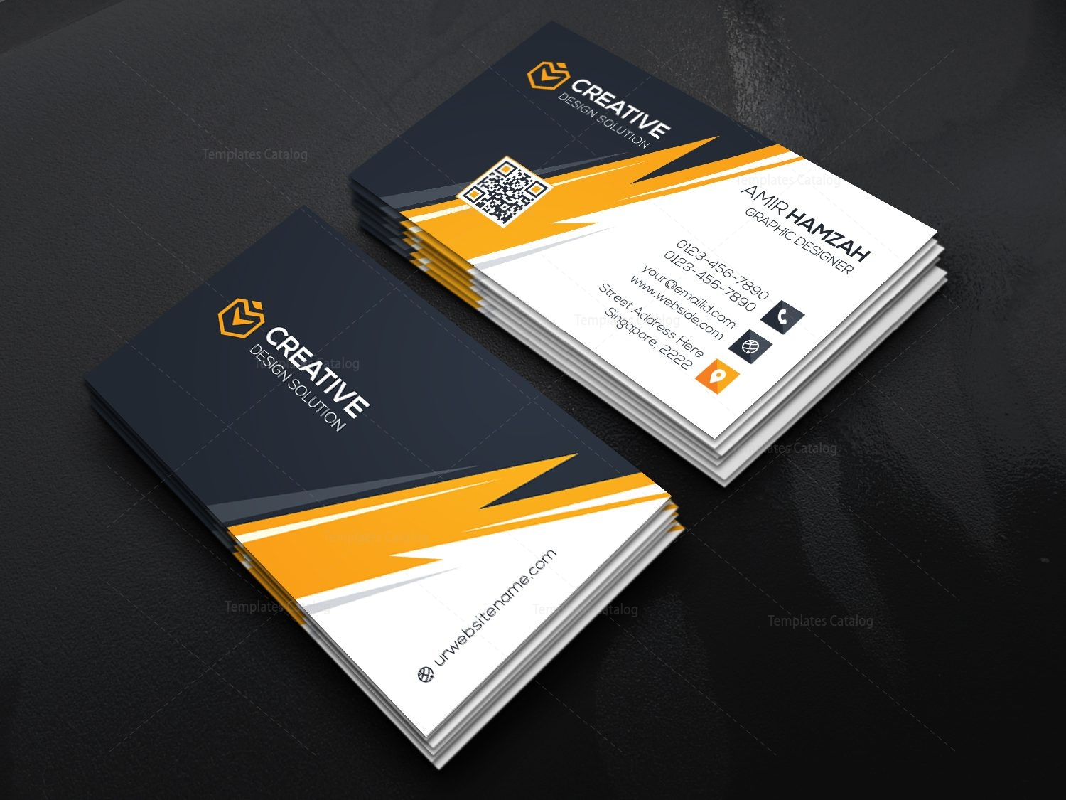 Thunder business card template 000471 template catalog for 12 up business card template