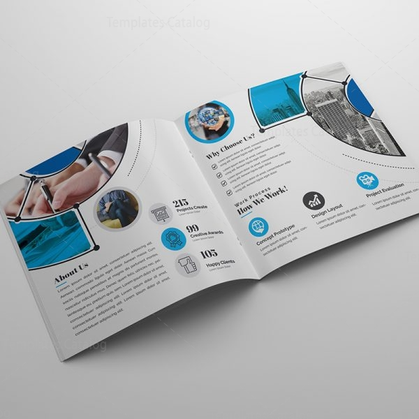 Business Corporate Brochure Template   Template Catalog