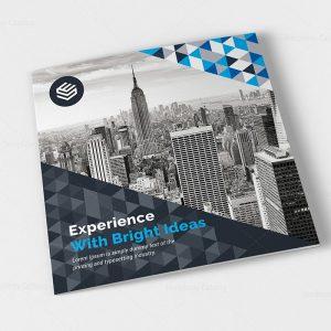 canopus corporate tri fold brochure design template - Settlement Brochure Template