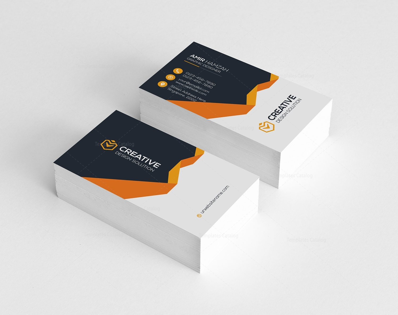 Chic Modern Business Card Template 000781 - Template Catalog
