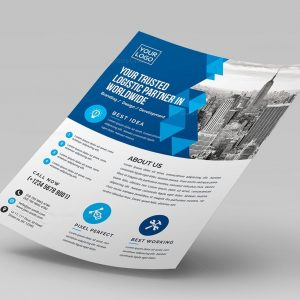 Classic Corporate Flyer Template