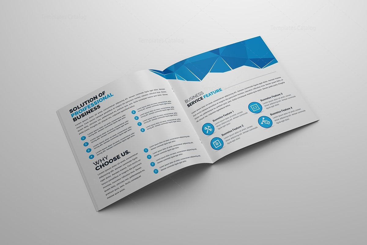 Classy corporate bi fold brochure template 2 template for Free bi fold brochure template 2