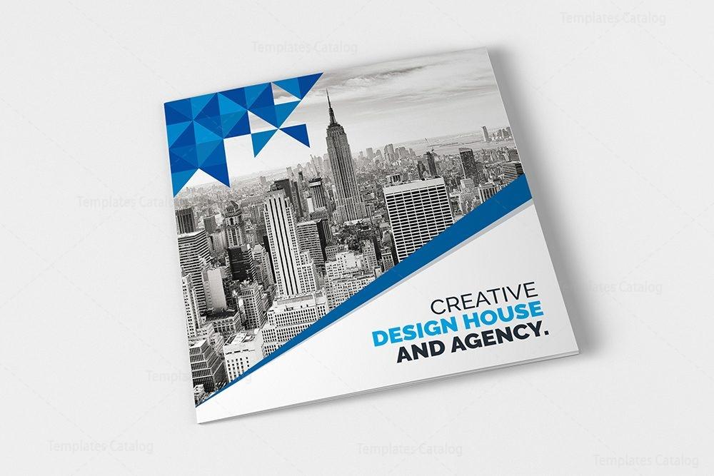 Classy Elegant Corporate TriFold Brochure Template - Fold brochure template