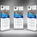 Corporate Store Roll-Up Banner Template