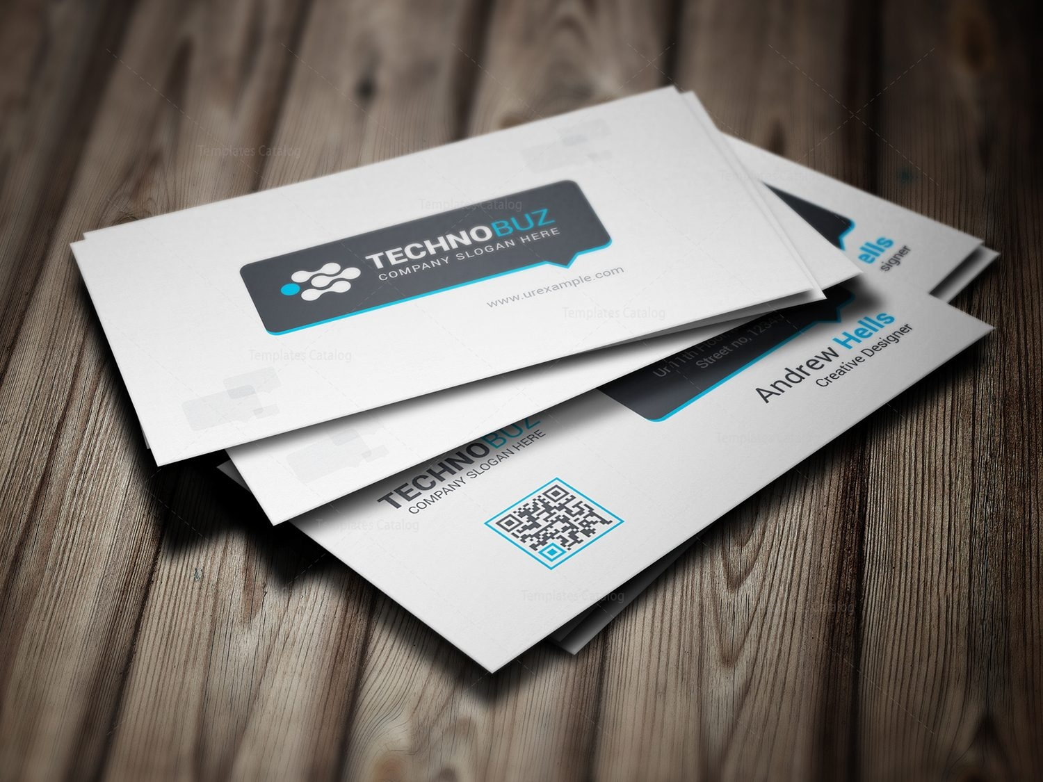 dahlia premium business card design template 000784