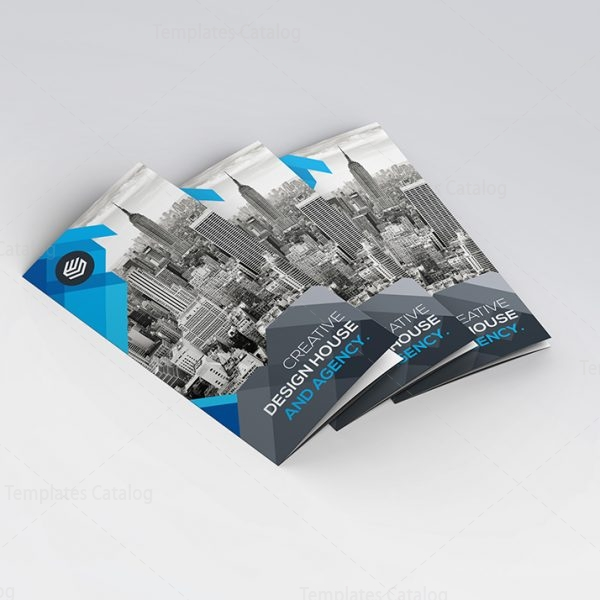 Design Studio Modern TriFold Brochure Template Template - Fold brochure template