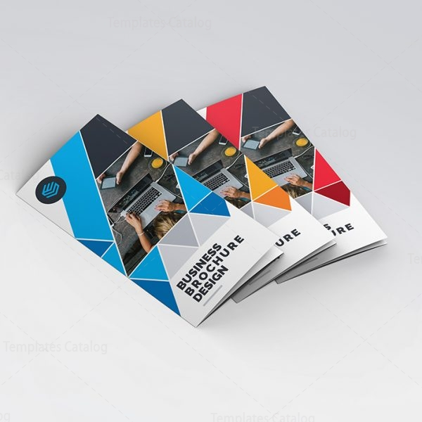 Hp Tri Fold Brochure Template Brochure Pages Trendy Eclectic Free - Hp tri fold brochure template
